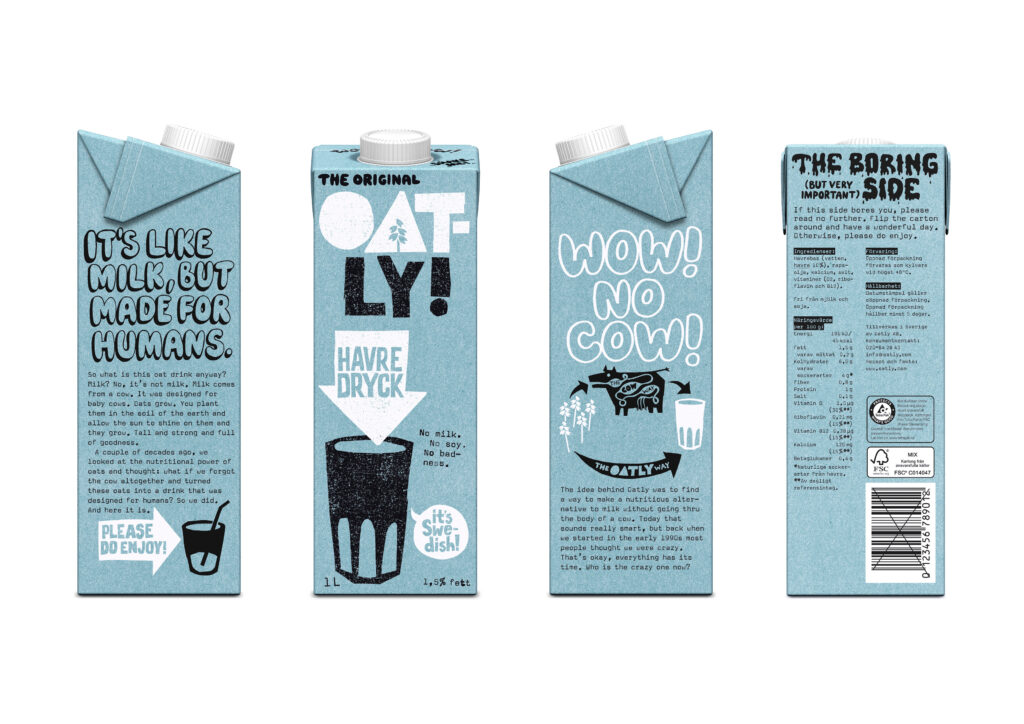 Oatly - redesign