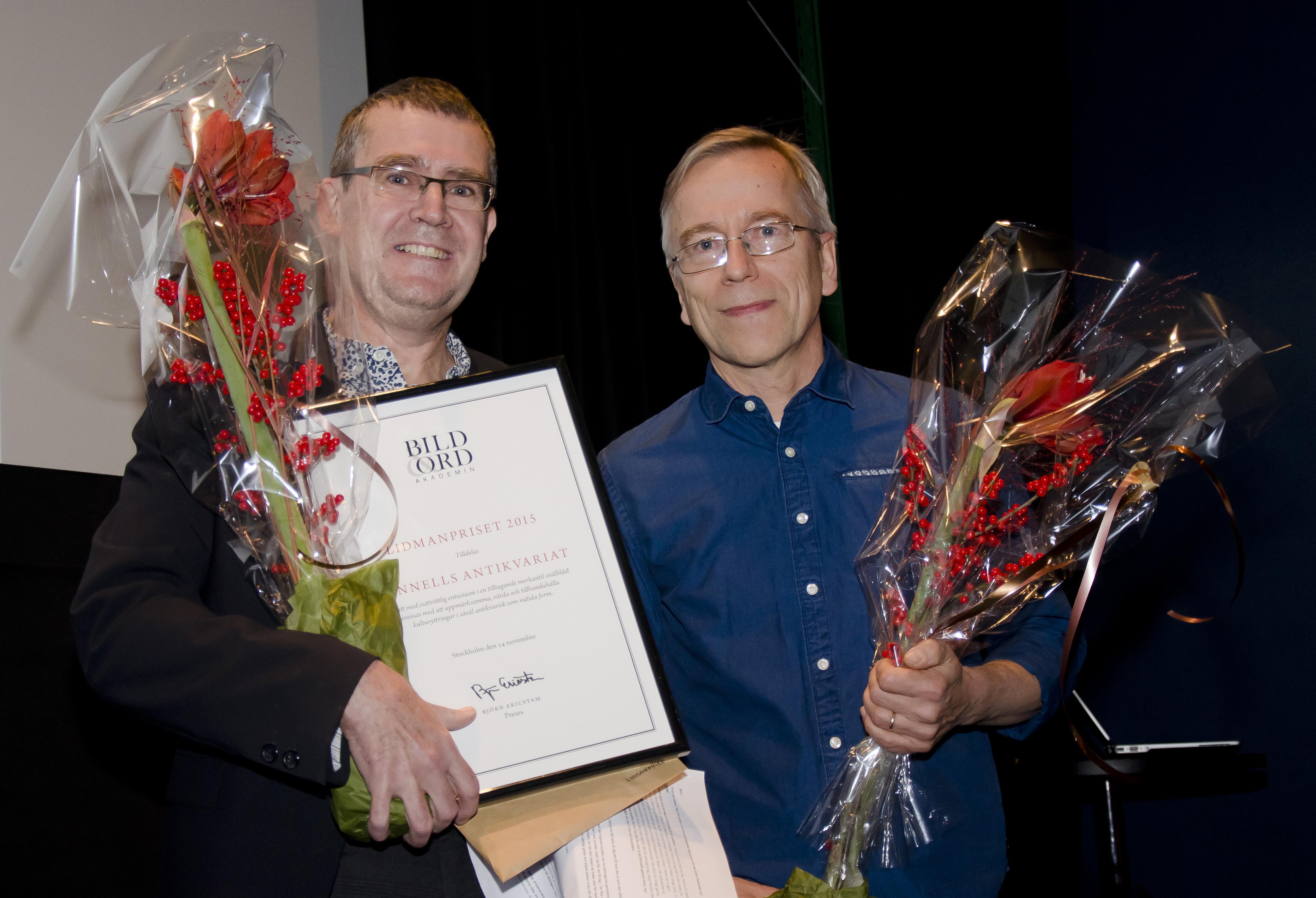 Pontus Soldén och Pekka Särkiniemi från Rönnells.