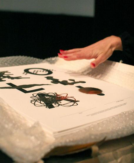 Diplom signerade Martin Frostner. Foto: Jenny Gustafsson.