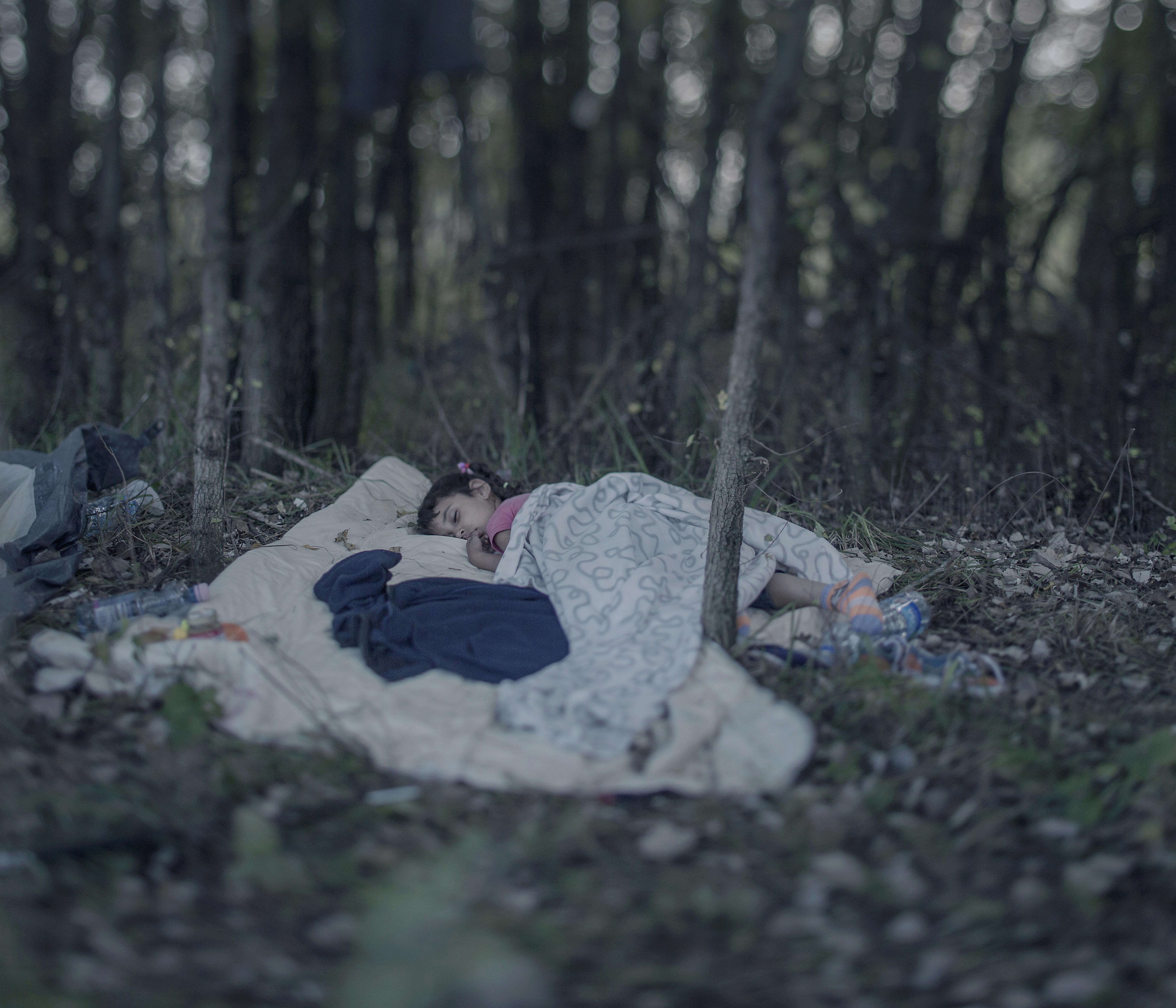 """Magnus Wennman tog hem Årets Bild, med en bild från sin serie """"Där barnen sover"""""""