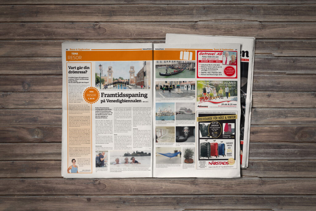 Kalmarposten distribueras till både företag och privatpersoner i Kalmarregionen.