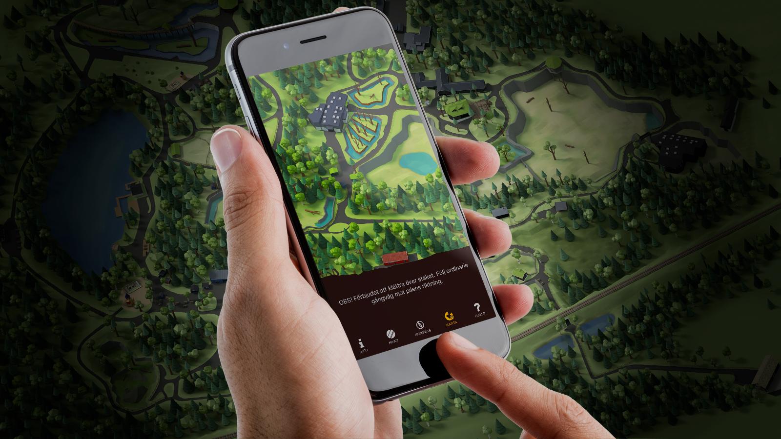 Karta Boras Djurpark.Gamification Tar Plats I Boras Djurpark Cap Design
