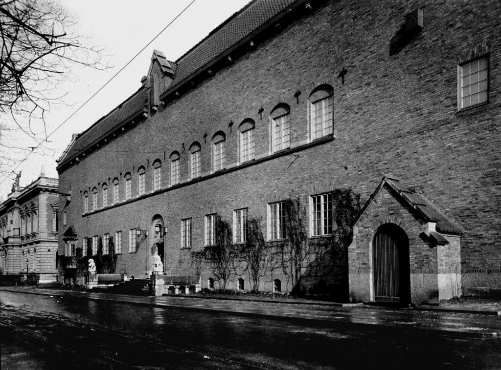 En bild på Röhsska museet från 1923. Foto: Röhsska museet.
