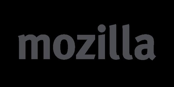 Mozillas tidigare logotyp.