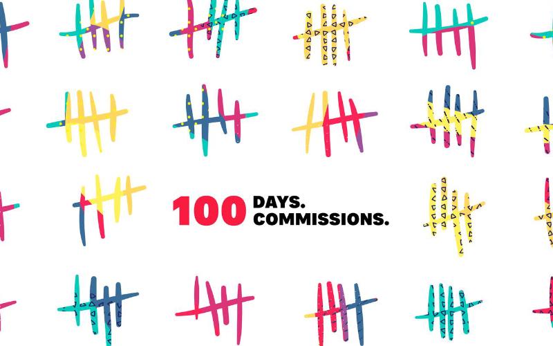 Serif letar 100 kreatörer