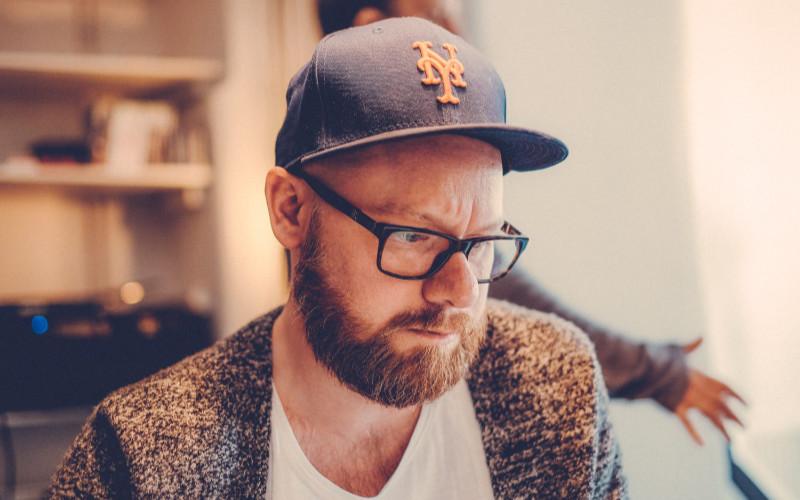 Martin Hummel-Gradén, grundare av Studio Hummel-Gradén. Foto: Mikael Selin.