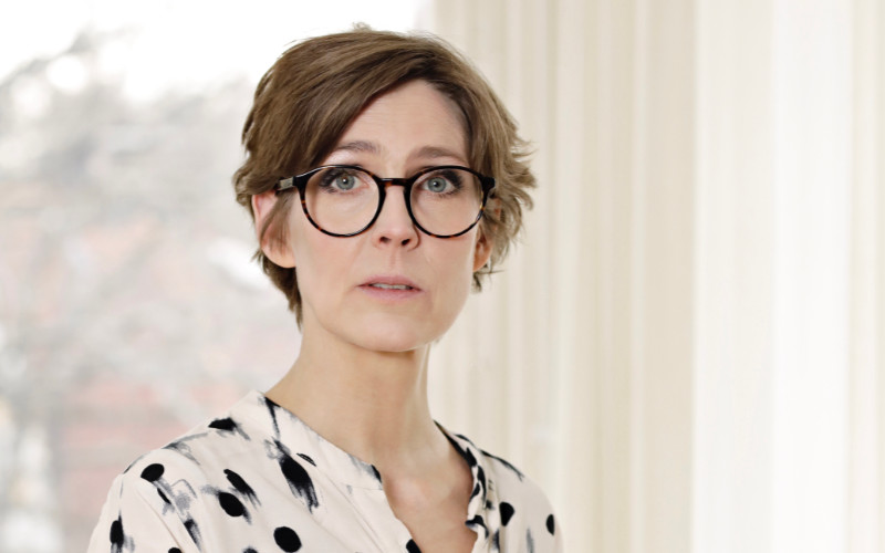 Josefine Engström, ordförande i Svenska Tecknare.