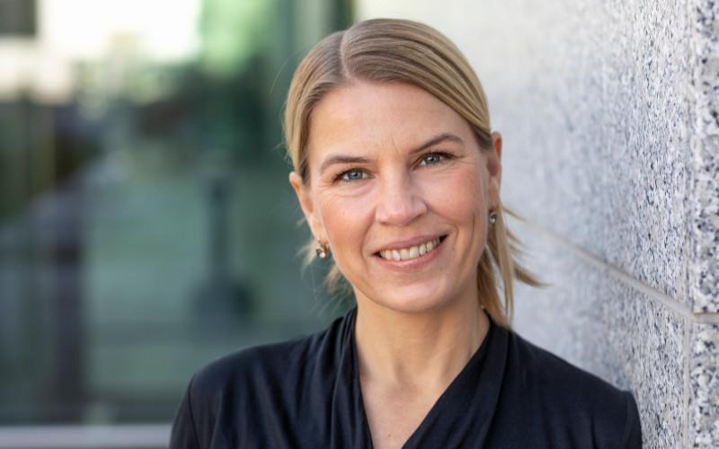 Veronica Foberg Gustafsson, kommunikationschef på FTI.