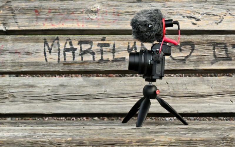 Nikon Z50 vlogger kit. Foto: Lamin Kivelä.