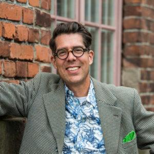 Jakob Lind, vd och medgrundare av Futurniture. Foto: Richard Hammarskiöld.