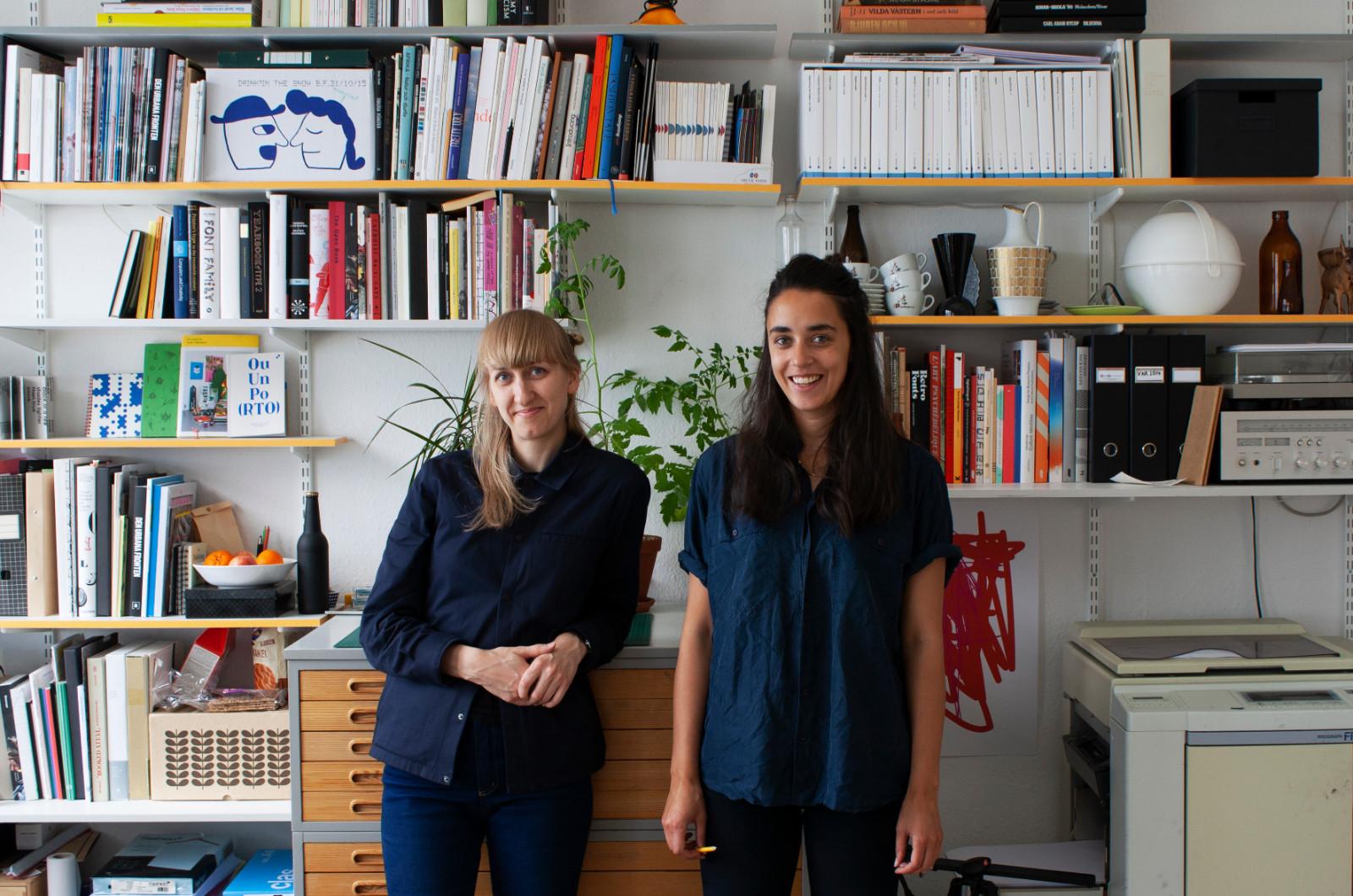 Sakaria Studio och Carolina Dahl – På bild: Carolina Dahl och Minna Sakaria. Foto: An Yen.