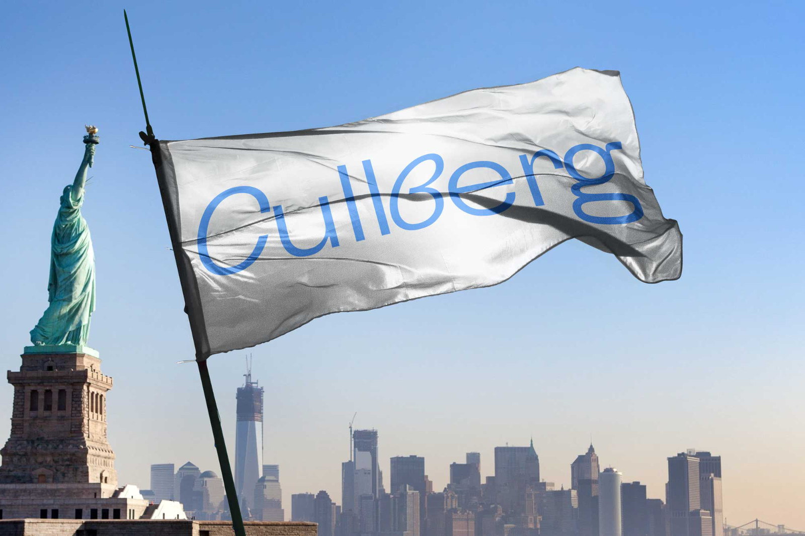 Martin Falck – logotyp för danskompaniet Cullberg, del av ny visuell identitet, Cullberg (2019).