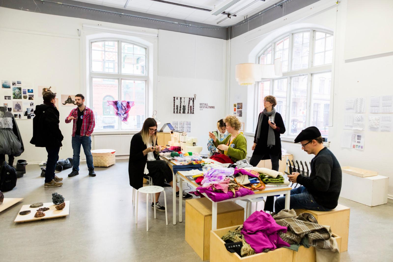 Open week – Det kuratoriella temat på den första Gothenburg Design Festival, HDK Valand – Högskolan för konst och design (2017). Foto: HDK Valand.