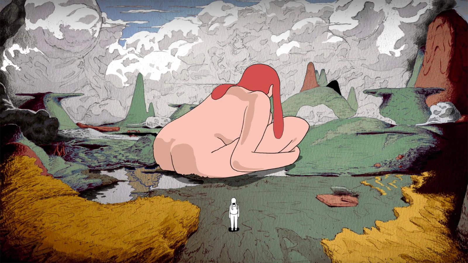 Gustaf Holtenäs – Rapin*, animerad musikvideo för Jenny Wilson (2018).