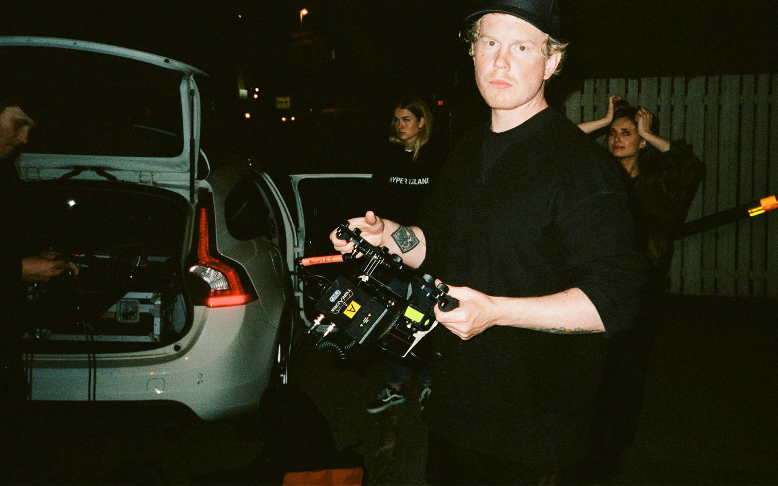 Filmregissören Mats Udd. Foto: Alexandros Bakos.