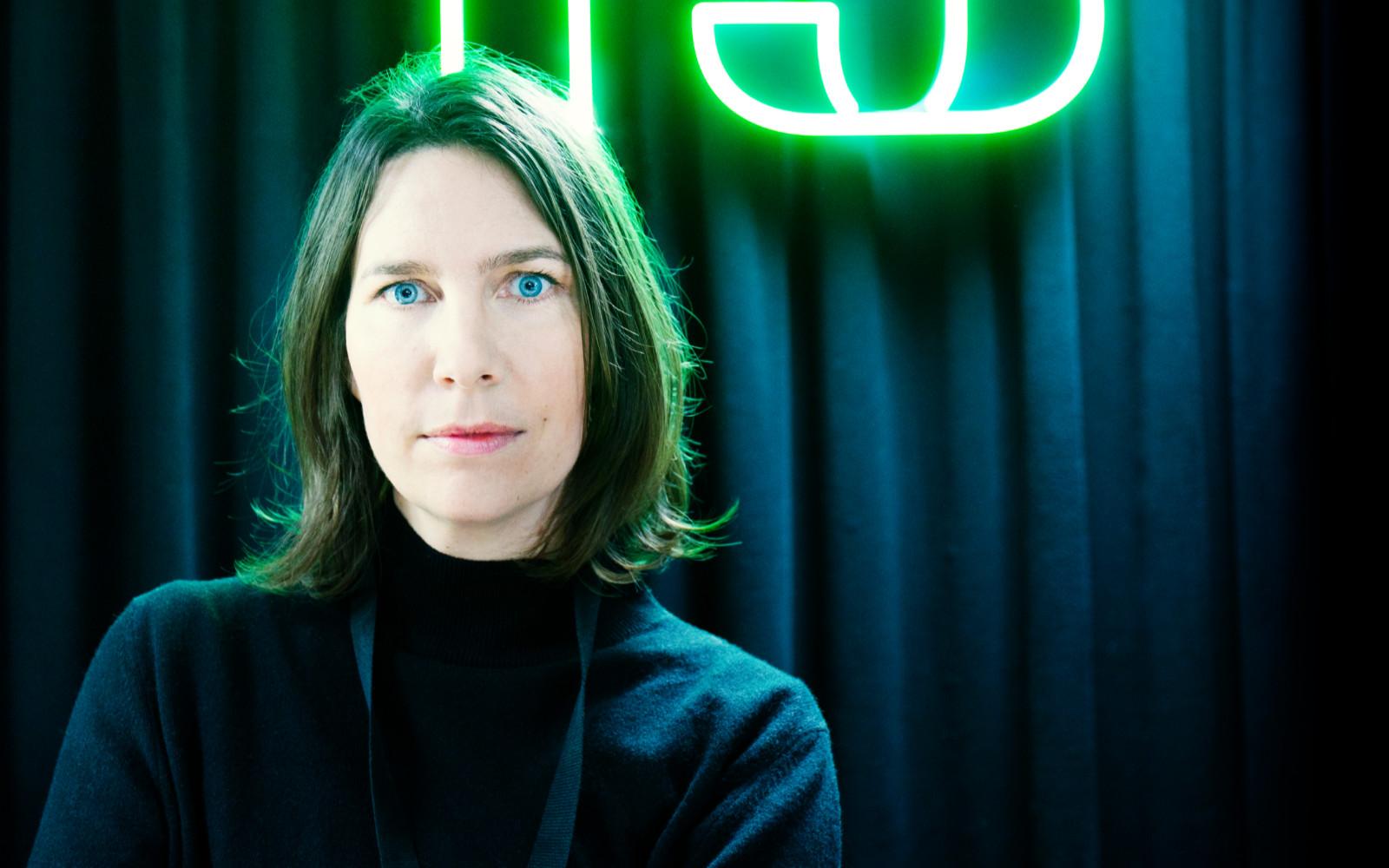 Caroline Pouron, kanalchef P3. Foto: Tor Johnsson.