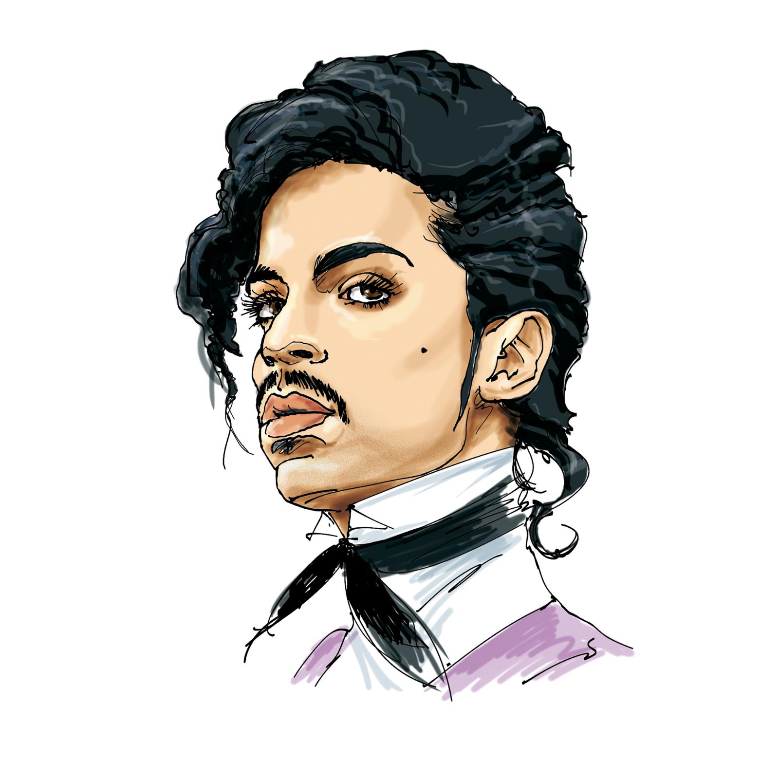 Tecknarens egna favorit, Prince.