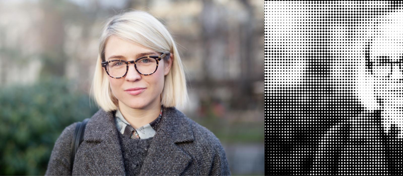 Hanna Björk, kategoriordföranden Digitalt, Acne Foto: Johan Lygrell.