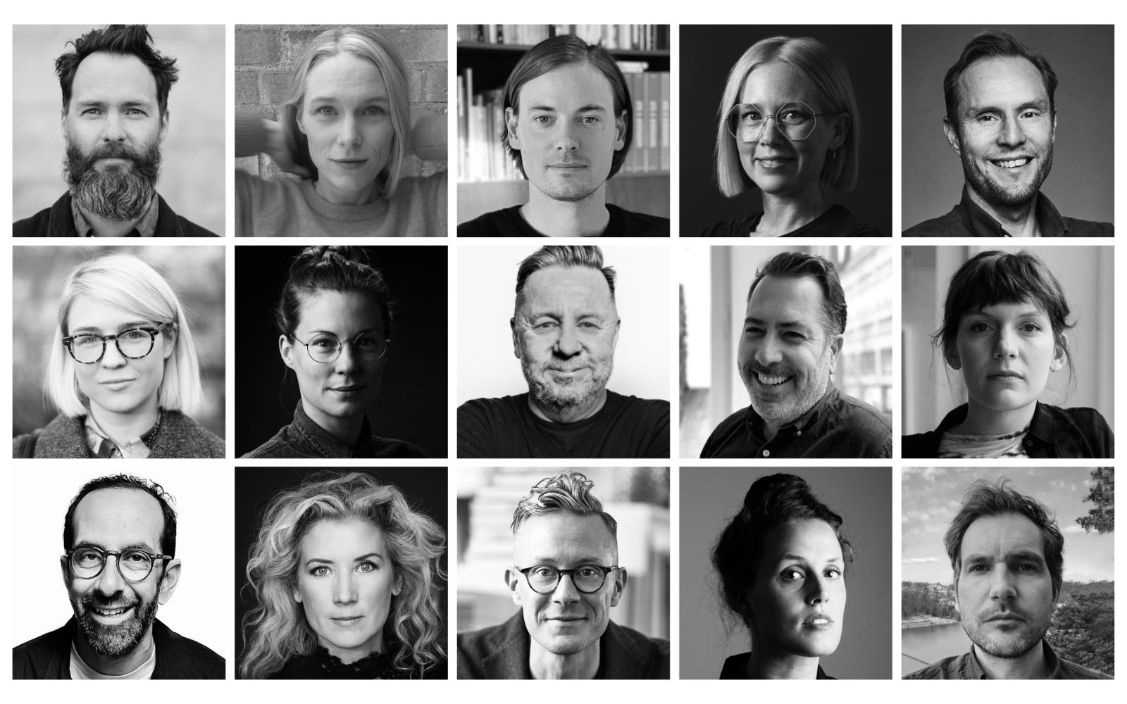 Alla kategoriordföranden i juryn för Guldägget 2021. Foto: Pressbild.