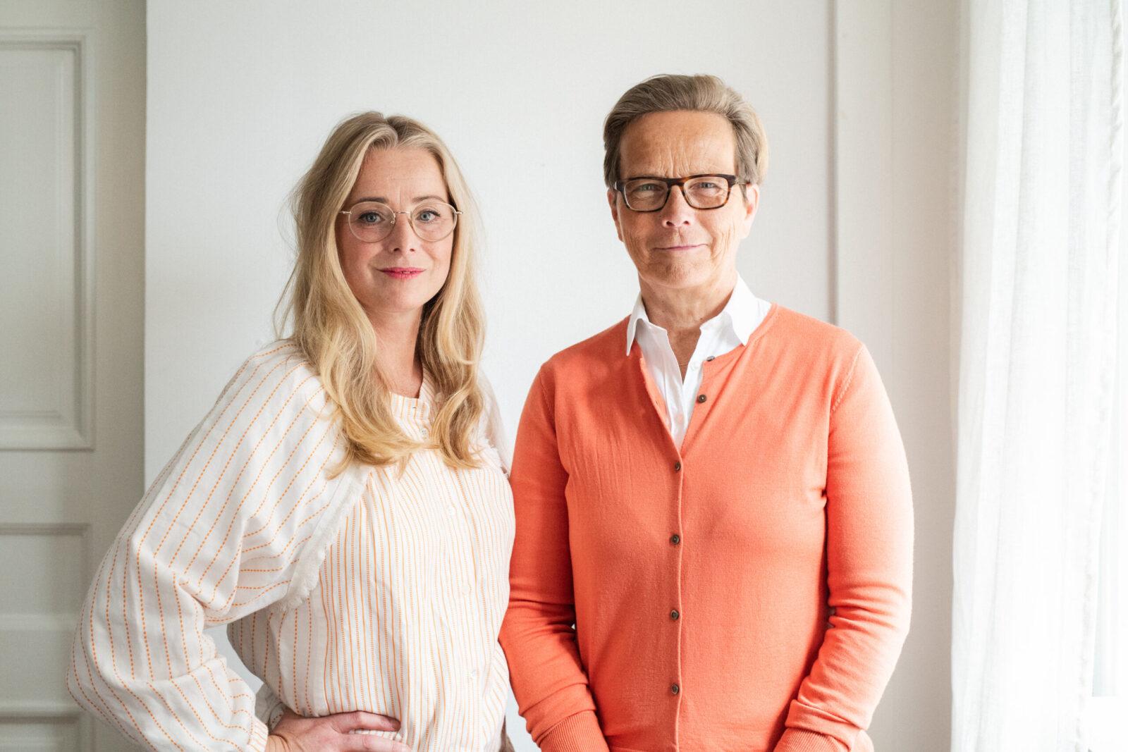 Komms vd Helena Westin och Ordförande Linda Nilsson Foto: Johanna Åkerberg Kassel.