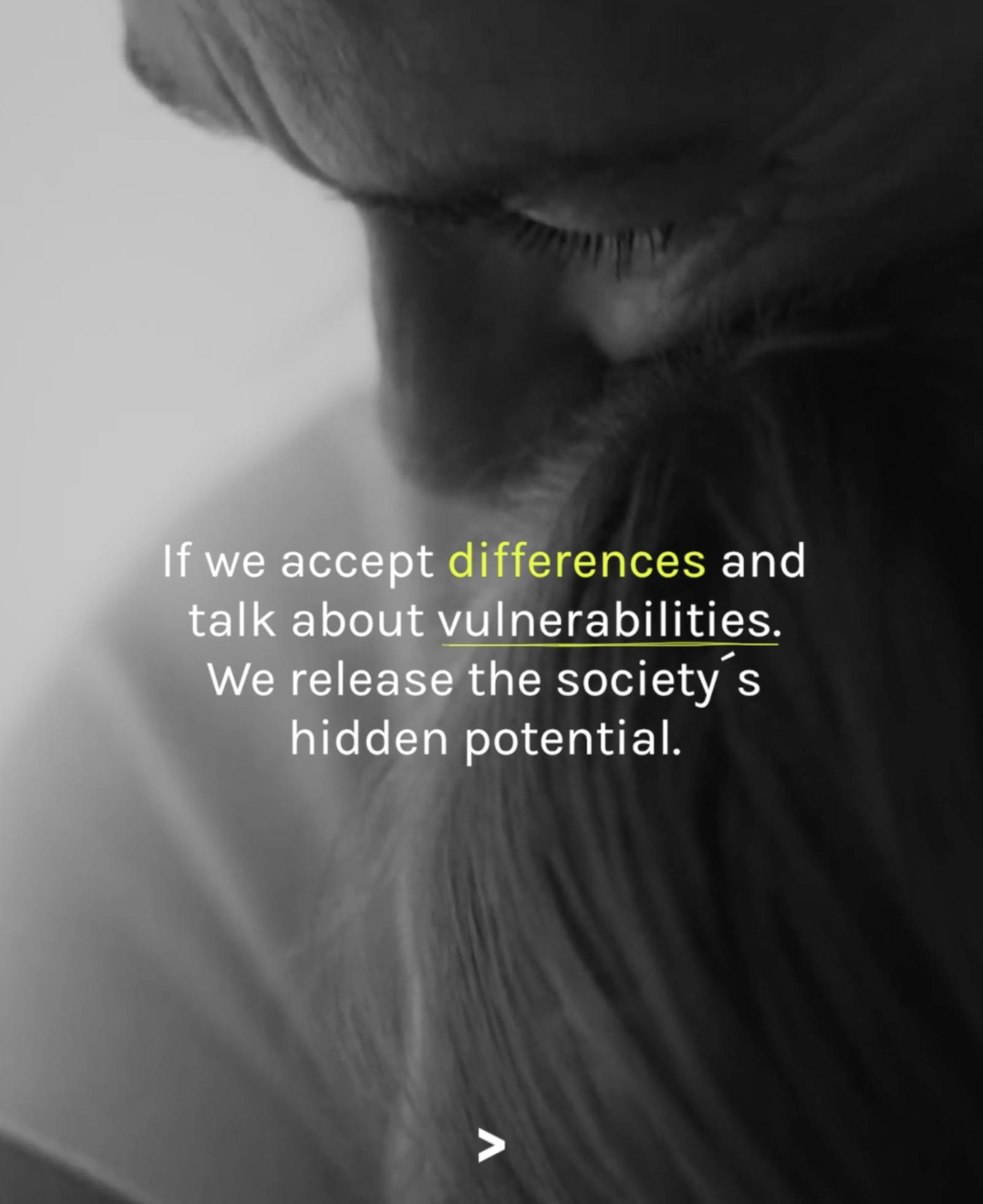 Norrsken Foundation, intervju och plåtning för Tänk om nu. Bild: Skärmdump från video.