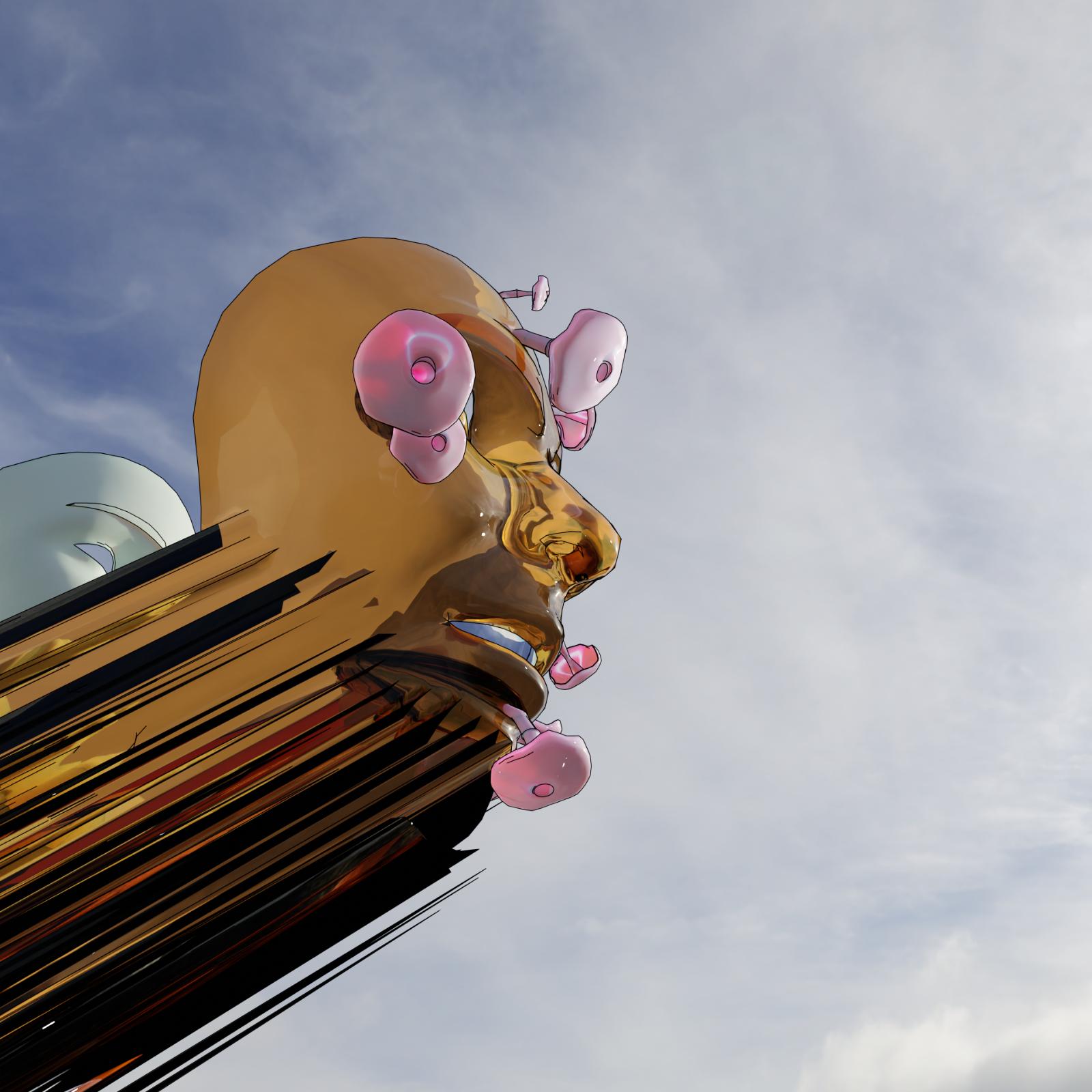 Detalj, Dream FNG (2021) av Jonas Quant.