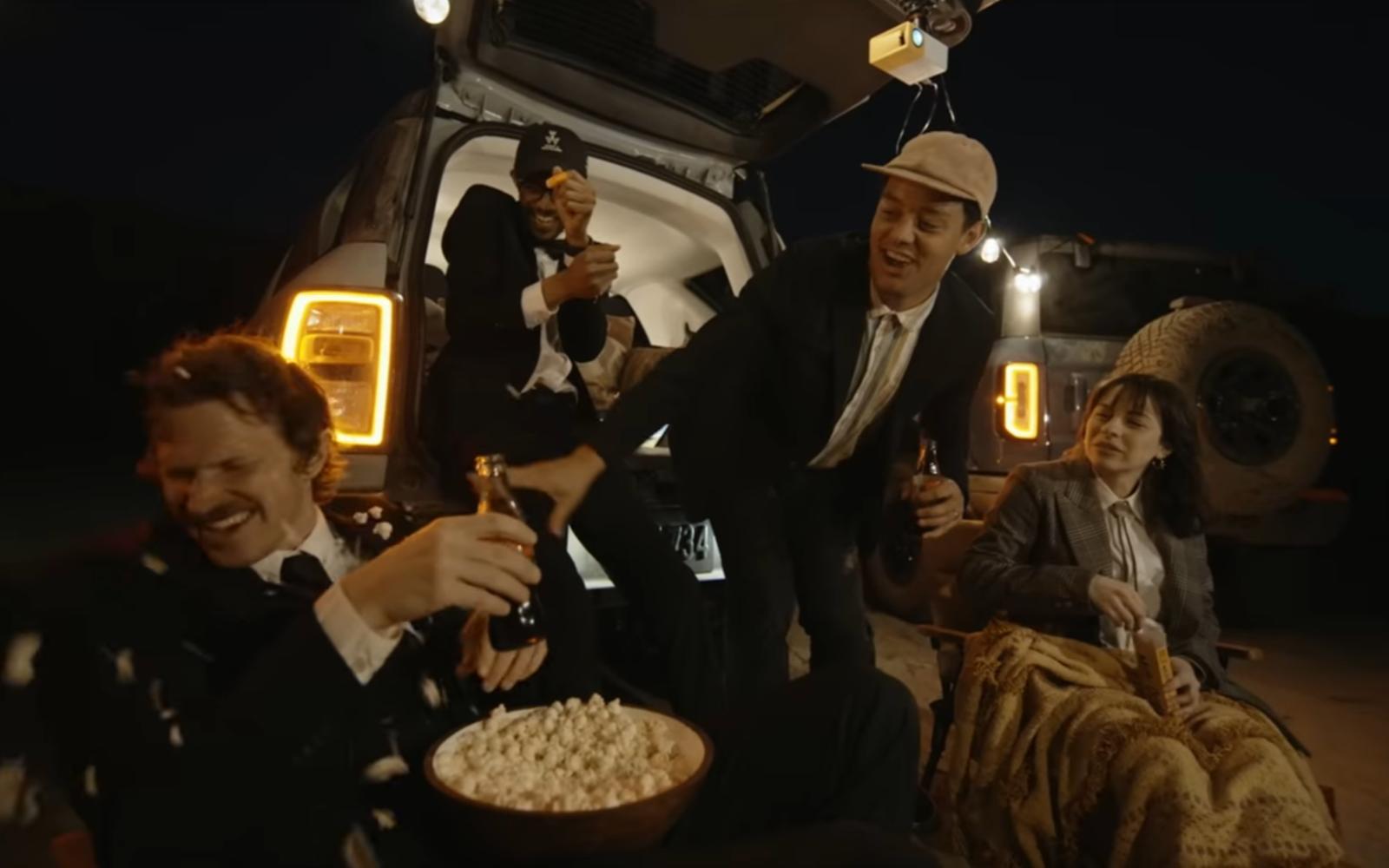 Moment Invitational Film Festival. Skärmdump från filmen The Moment International Film Festival Is Back (2021).