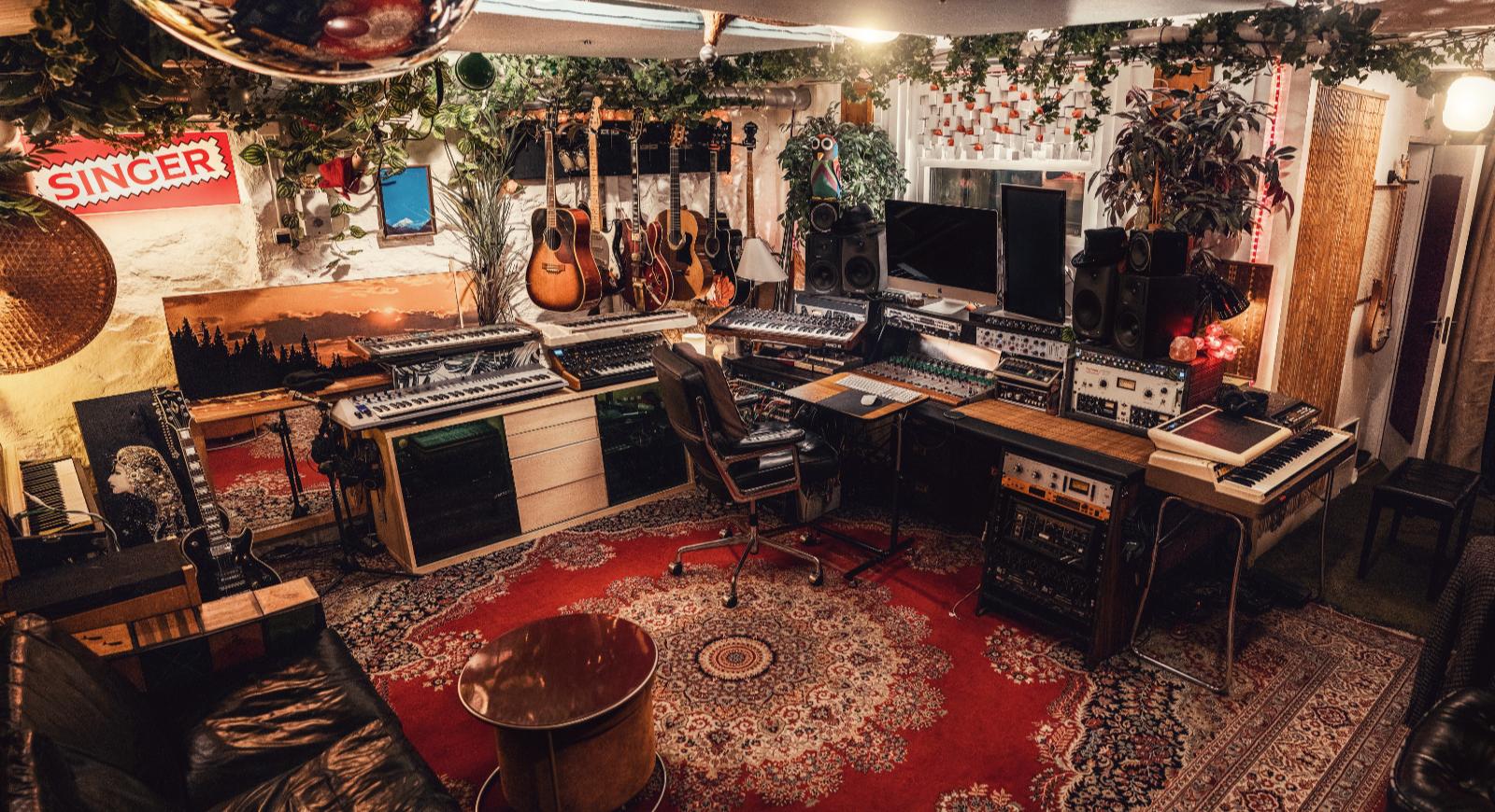 Sonika Studios källarlokal på Bondegatan 6, på Söder i Stockholm. Foto: Kenny Jonson.